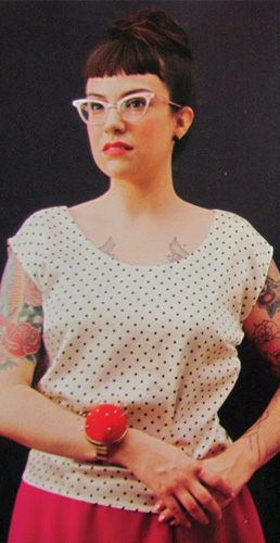 Gerties New Book for Better Sewing Portrait Blouse