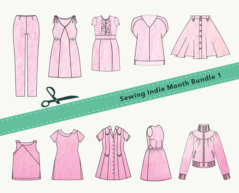 Sewing Indie Month Bundle 1
