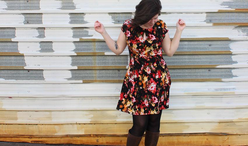 Helen's Closet Davie Dress by Sewaholic Patterns