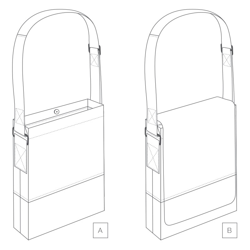 Granger Book Bag FREE PDF Pattern by Helen's Closet