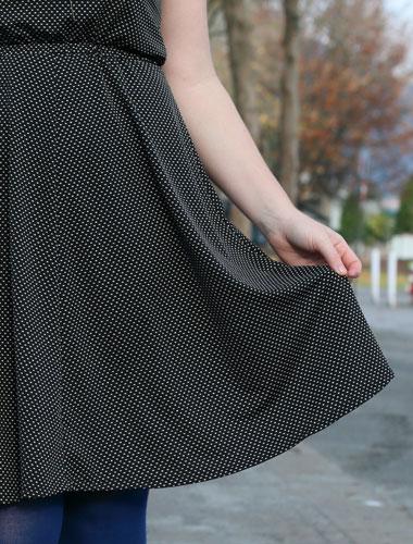Helen's Closet Sallie Dress and Hollyburn Skirt by Closet Case Files and Sewaholic Patterns