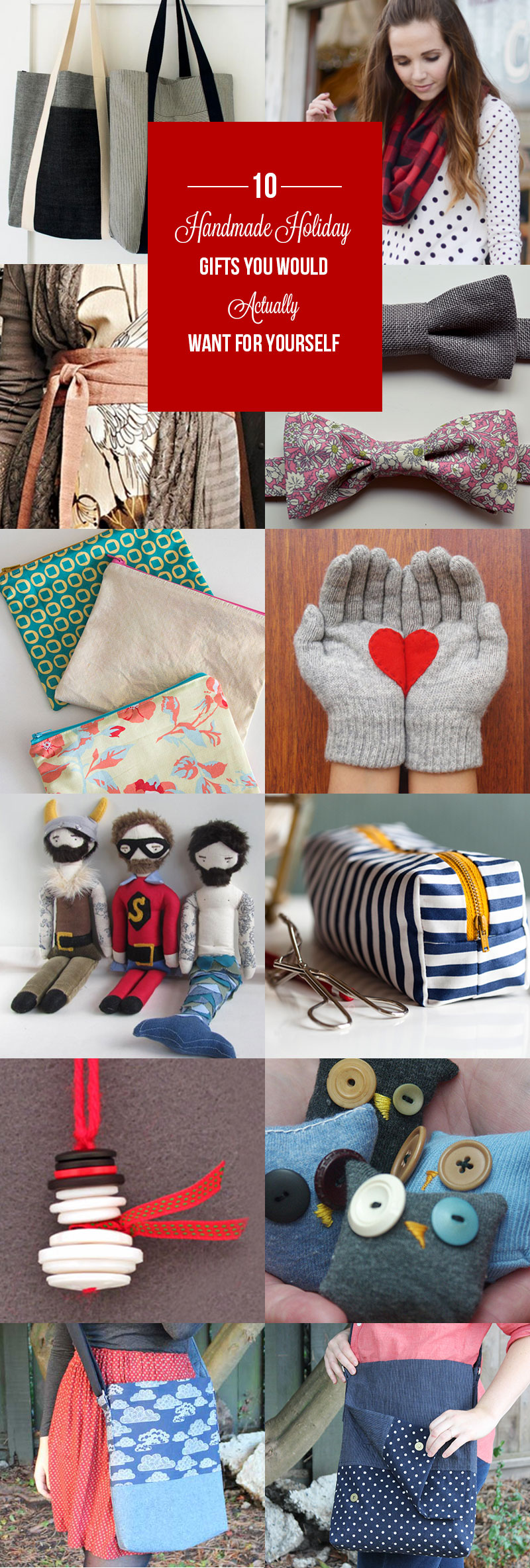 Best 10 Handmade Holiday Gifts