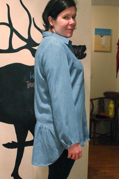 Grainline Studio Archer Button Up by Helens Closet