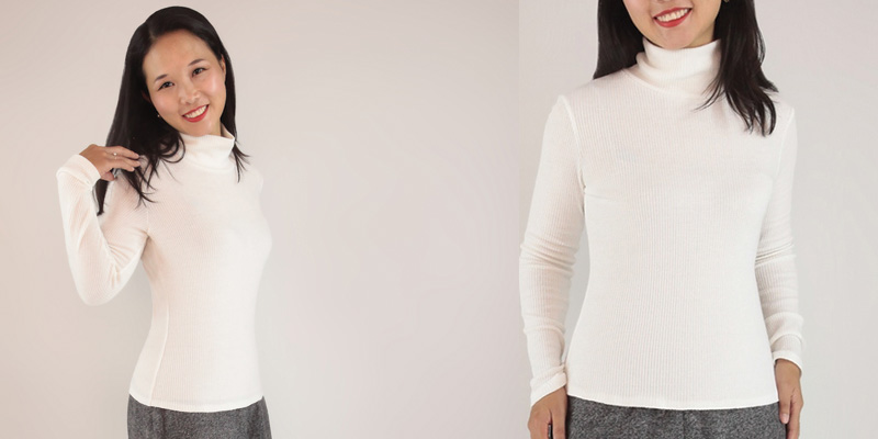 Itch To Stich Hepburn Turtleneck