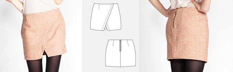 Nascha Skirt by Named Patterns