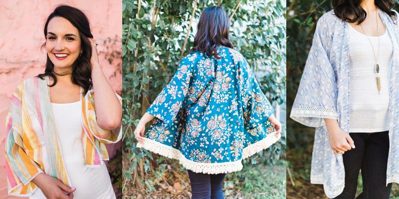 Sew Caroline Florence Kimono