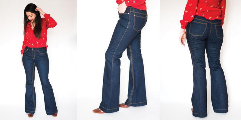 Closet Case Files Ginger Jeans Flares