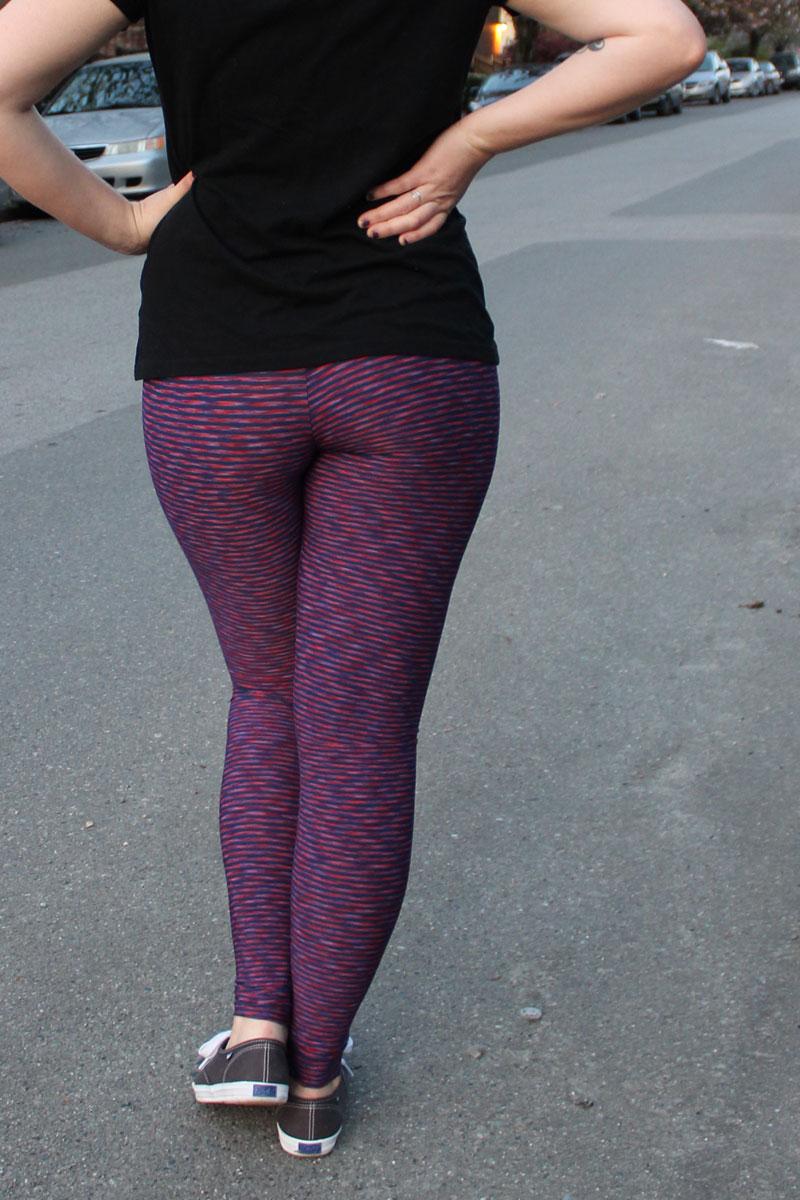 DIY Yoga Pants by Helen's Closet
