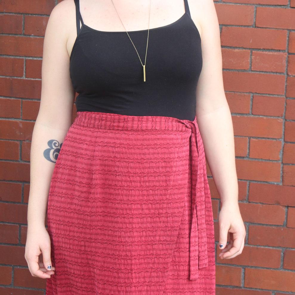 Maxi Nita Wrap Skirt