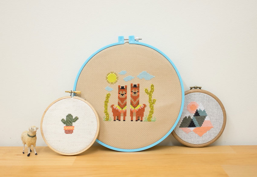 Cross Stitch Fancy Tiger Crafts