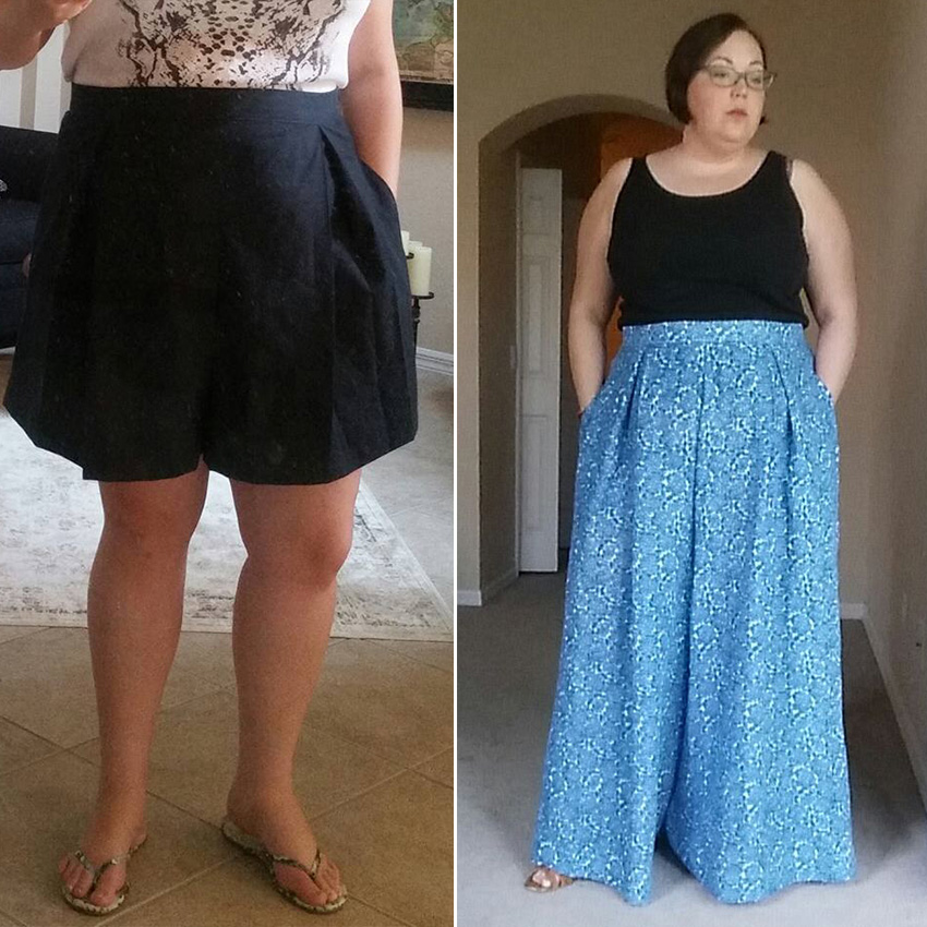Winslow Culottes Testers