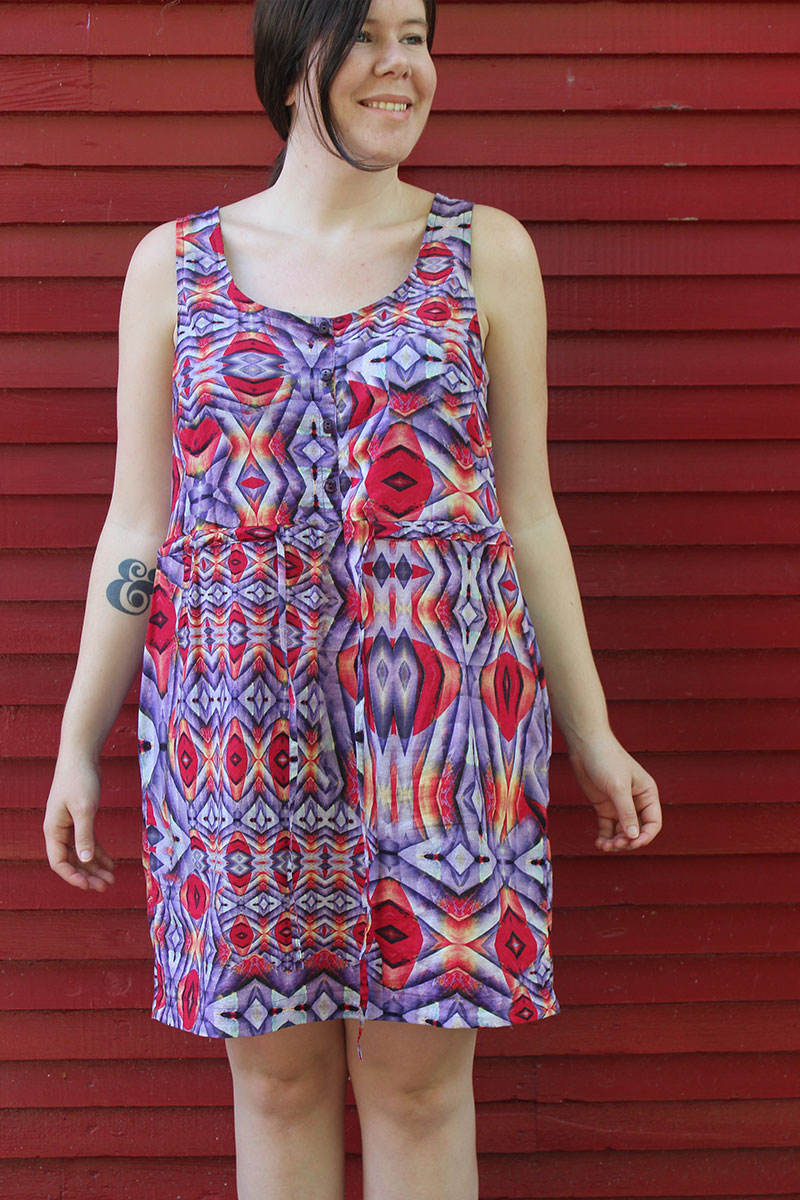 True Bias Southport Dress by Helen's Closet