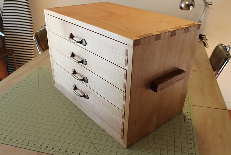 DIY Sewing Storage Chest