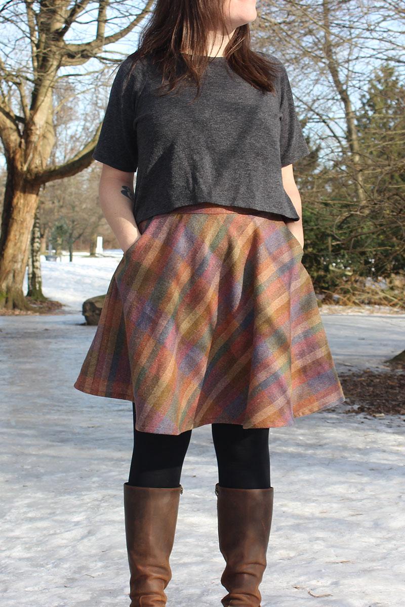 Hollyburn Skirt and Short Linden