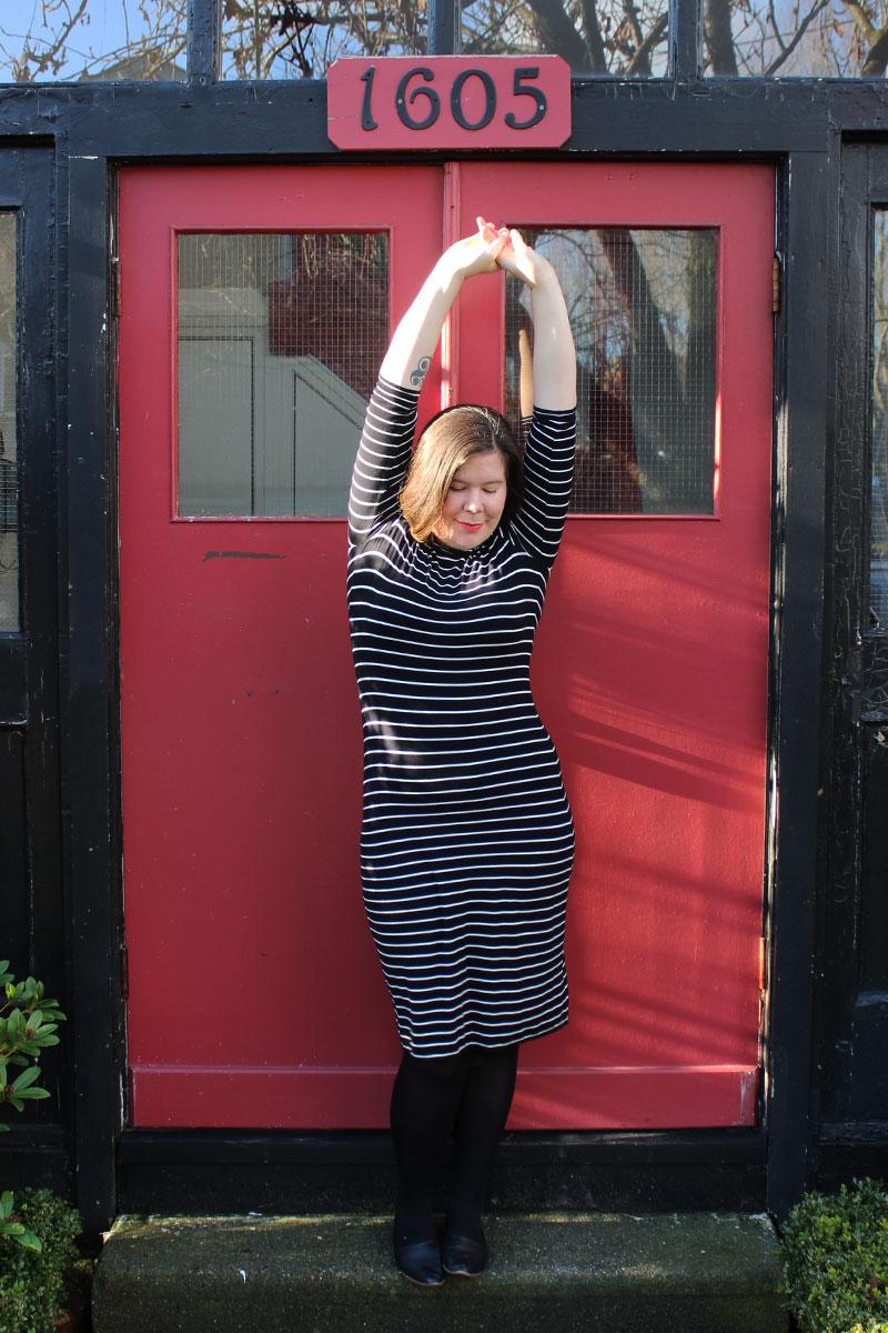 SMYLY Striped Nettie Dress