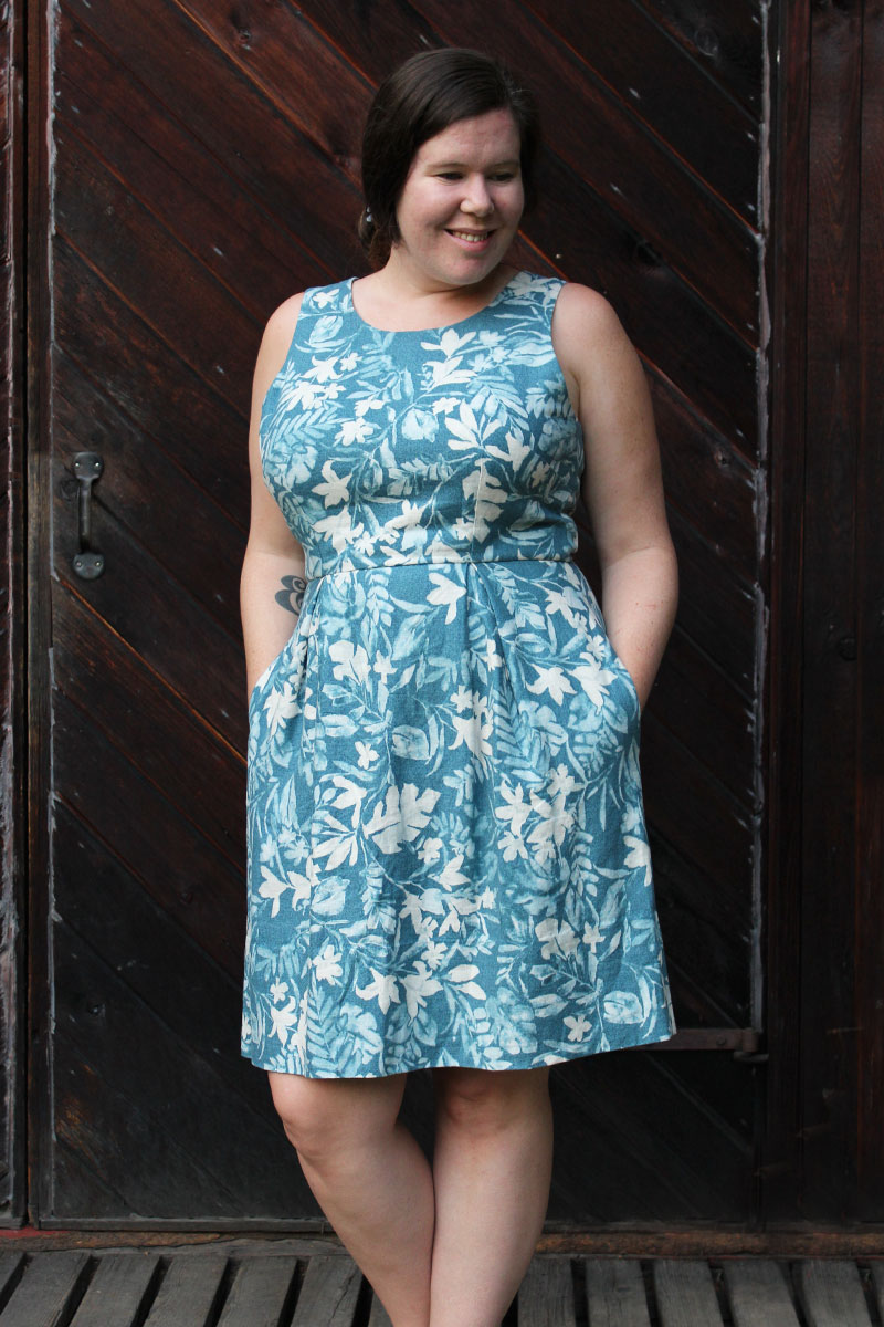 Winslow Culottes Dress Hack by Helen's Closet