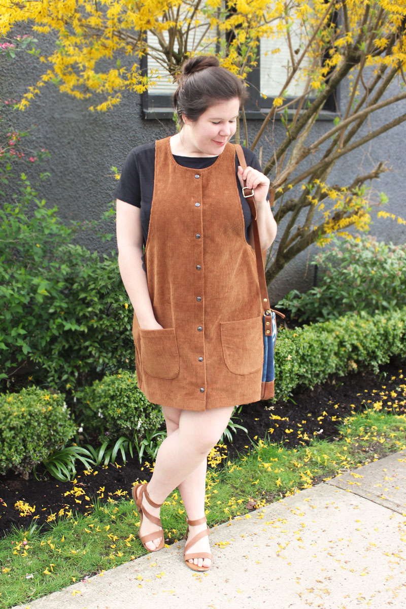 Snap Front York Pinafore Hack