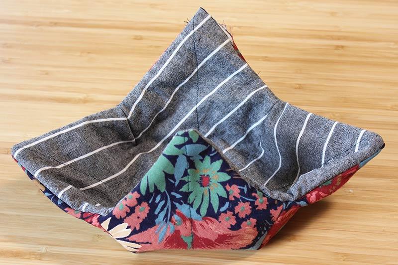 How to Sew a DIY Soup Bowl Cozy