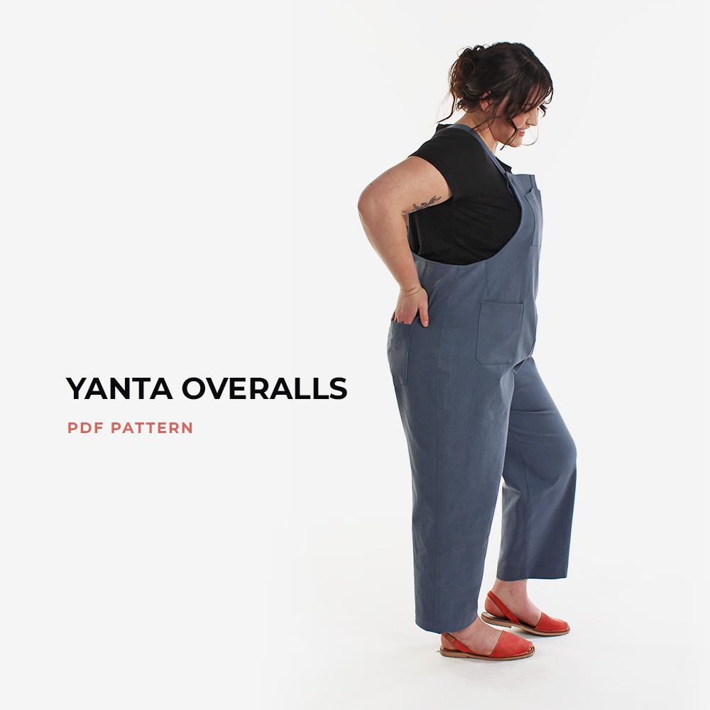 Classic Overalls Pattern - the Yanta Overalls PDF Pattern