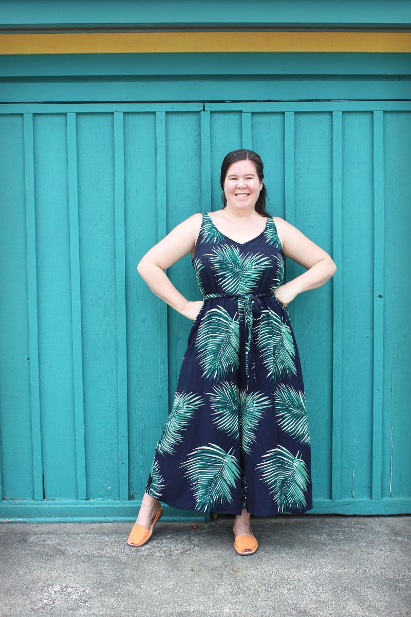 Closet Case Patterns Amy Jumpsuit
