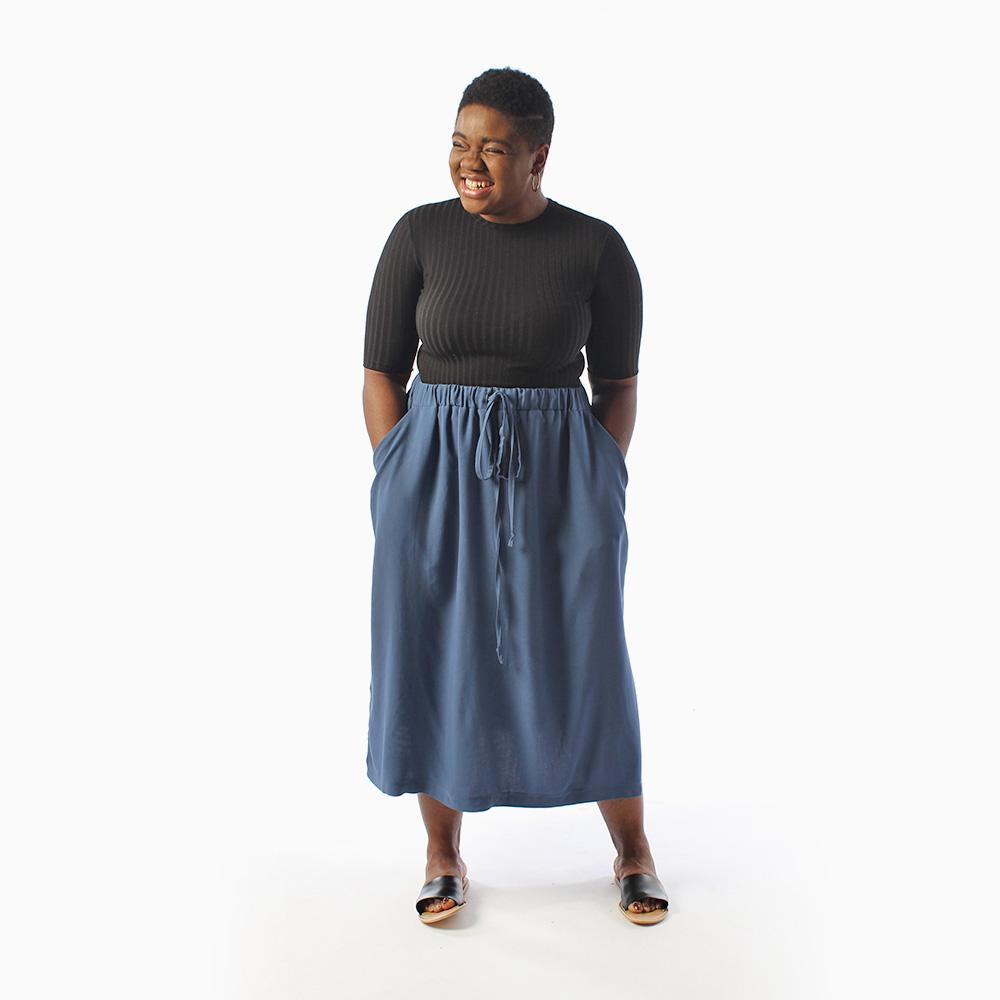 Donovan Skirt, beginner sewing pattern
