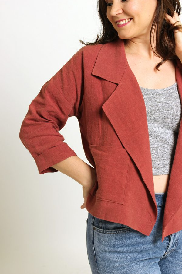 Pona Jacket Sewing Pattern by Helen's Closet
