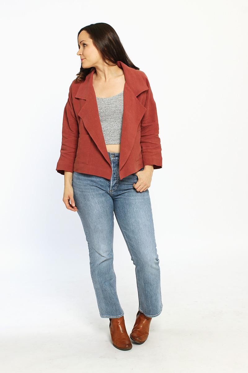 Pona Jacket Sewing Pattern by Helen's Closet
