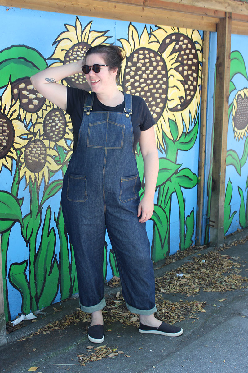 Denim Yanta Overalls with Overalls Hardware