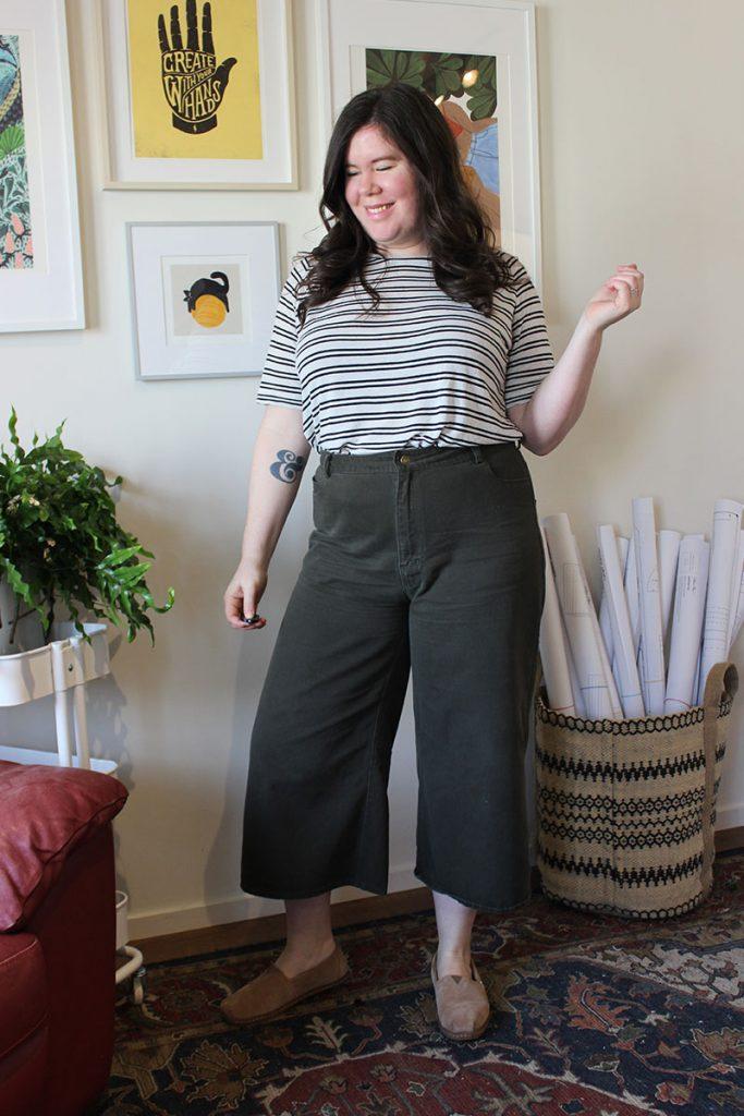 Striped Elliot Tee, Raglan Shirt Pattern