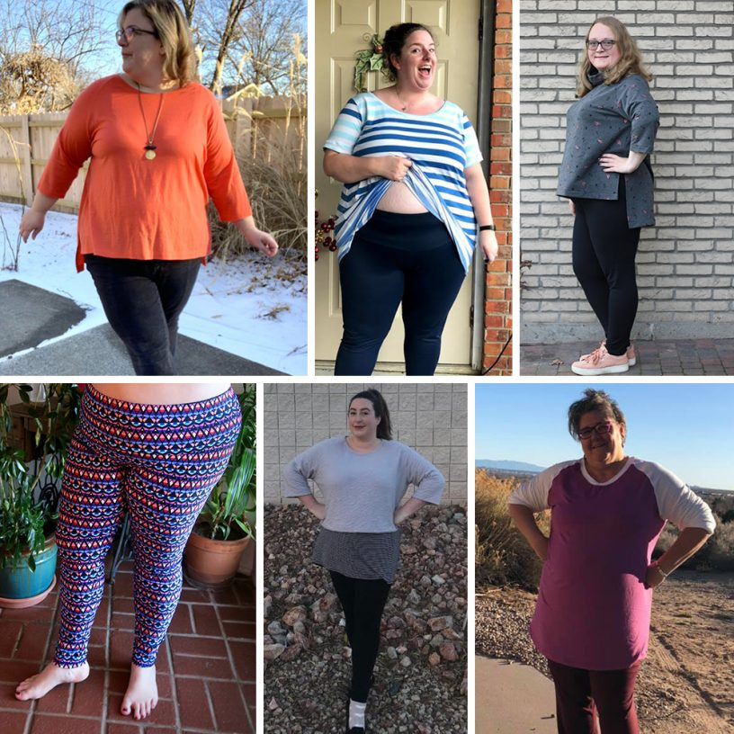 Avery Leggings and the Elliot Sweater Testers