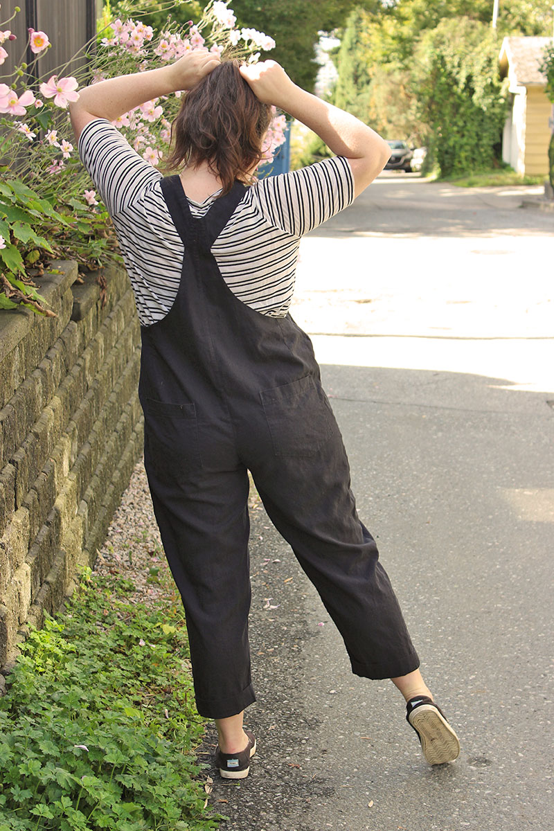 Classic Overalls Sewing Pattern by Helen's Closet