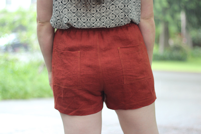 Arden Pants Pattern Shorts Hack Helens Closet Patterns