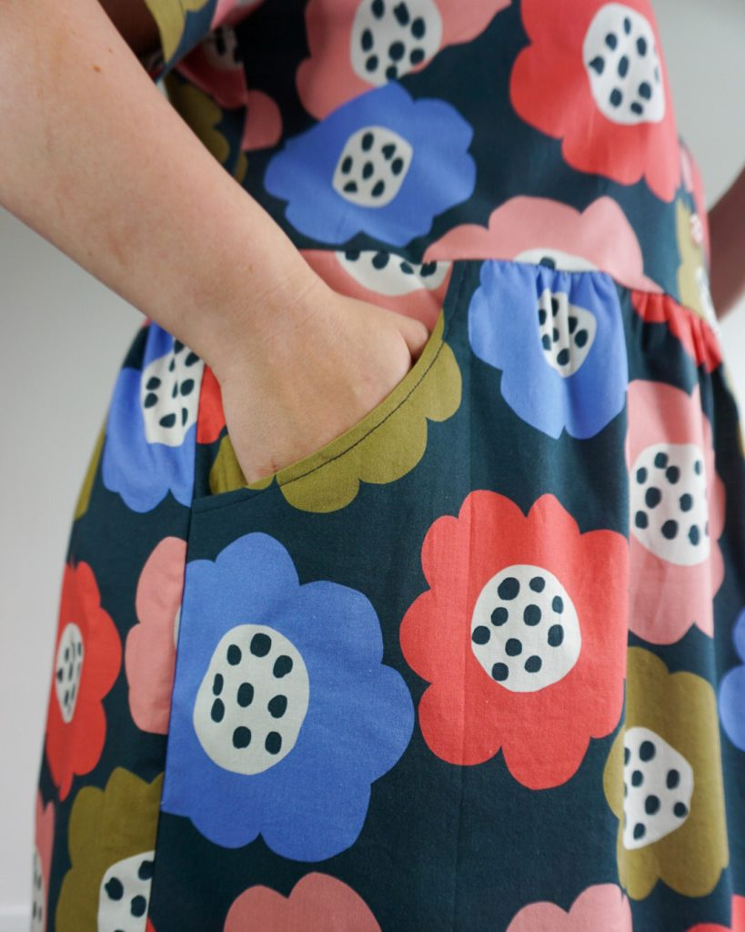 Gilbert Top Dress Hack by Samantha from Purple Sewing Cloud