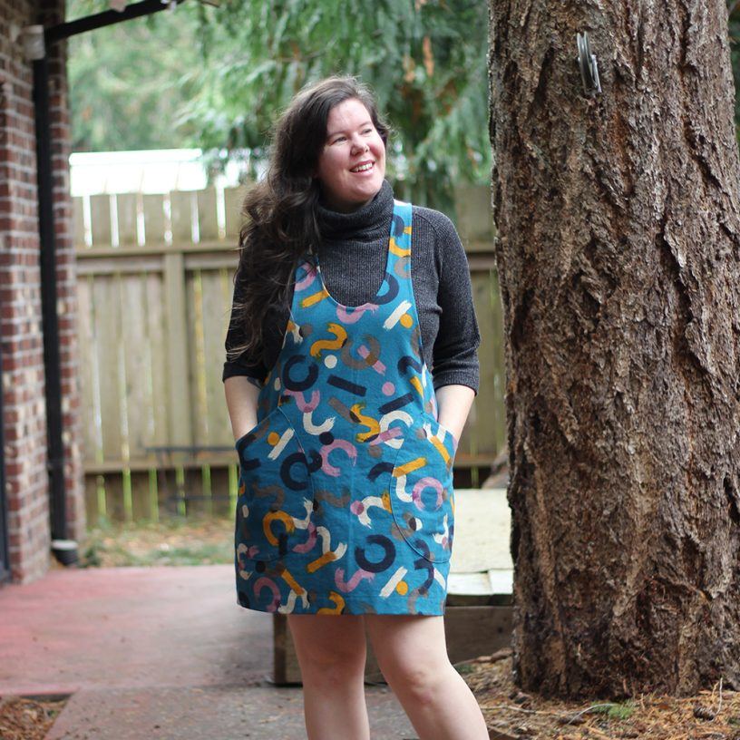 York Pinafore by Helen's Closet Patterns