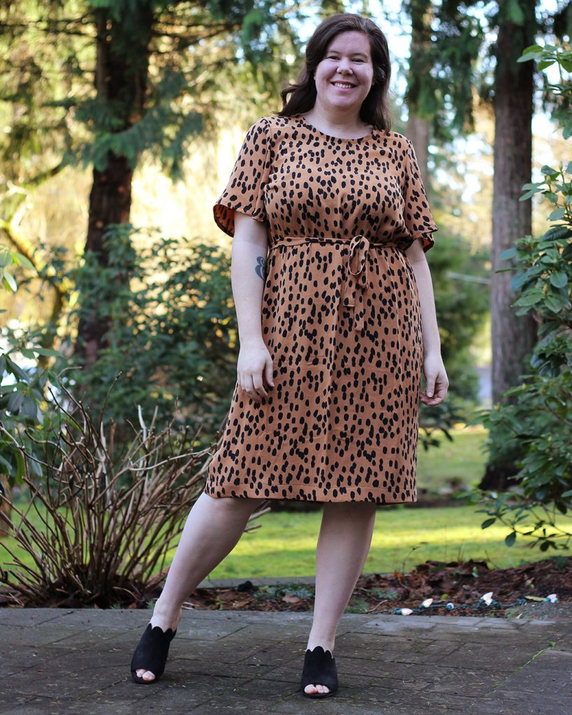 This Ashton dress hack is an easy way to dress up a tried and true sewing pattern!