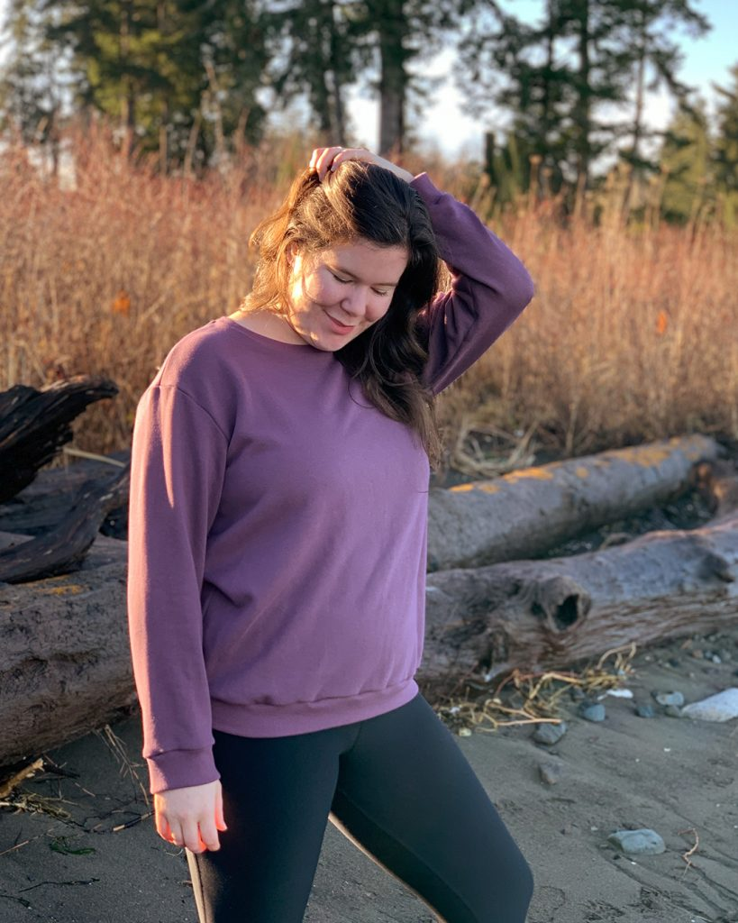 The Jackson Tee and Pullover PDF Sewing Pattern. A classic sweater pattern for all seasons.