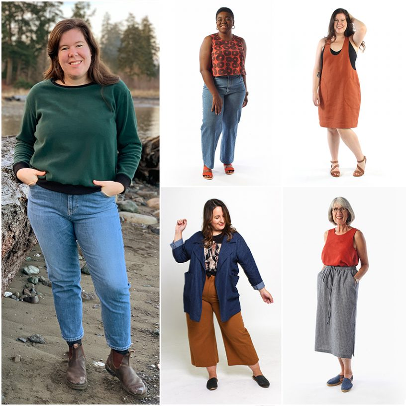 Helen's Closet Top 5 Sewing Patterns for Beginners