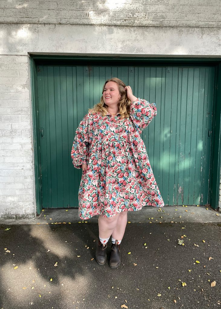 Katie's March Dress review.