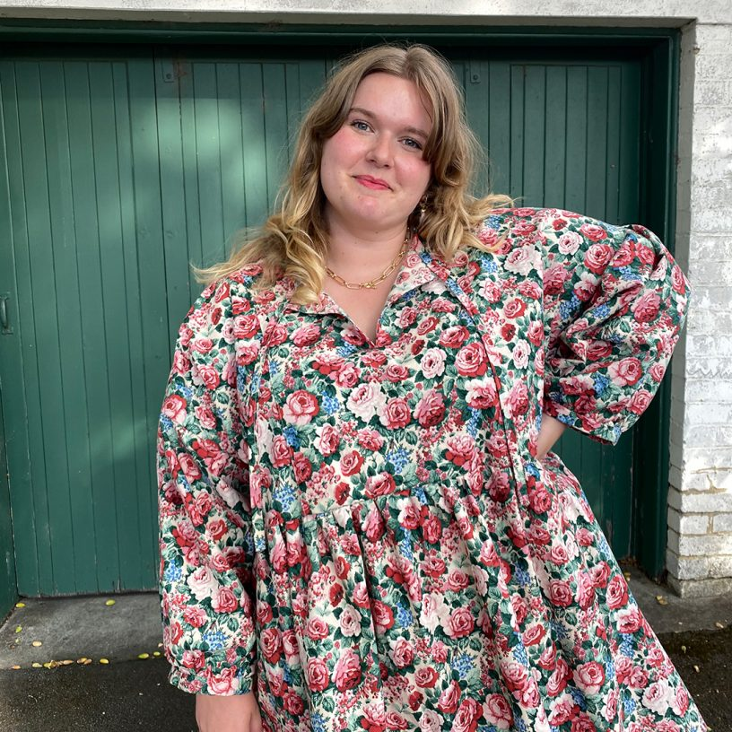 The March Dress Sewing Pattern from Helen's Closet, made by Katie Parrott (@katie_parrott)