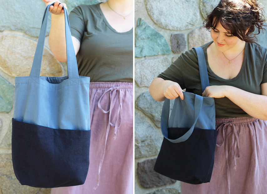Free Bag Pattern: Costa Tote from Helen's Closet Patterns
