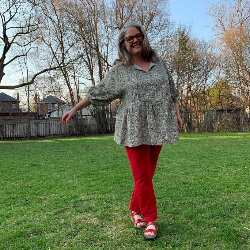 Janet's March Tunic Hack (@sew_sister)