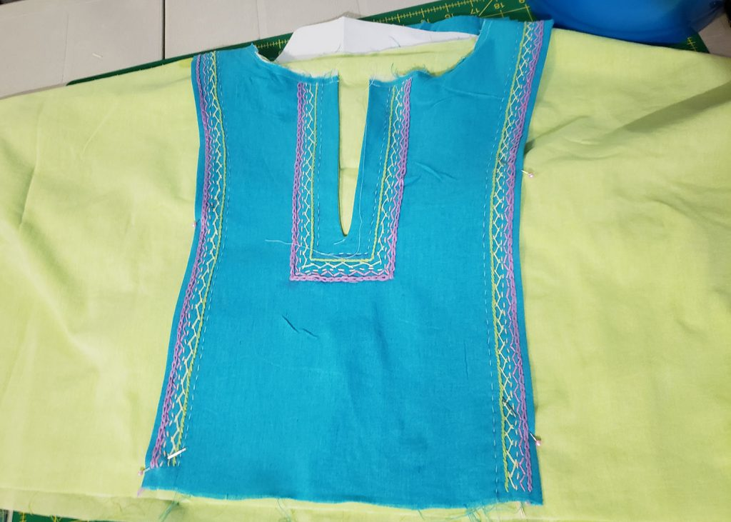 Andie's Embroidered March Top