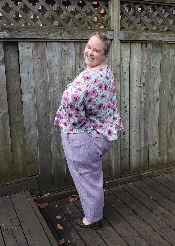 Andie's March Top by Helen's Closet Patterns