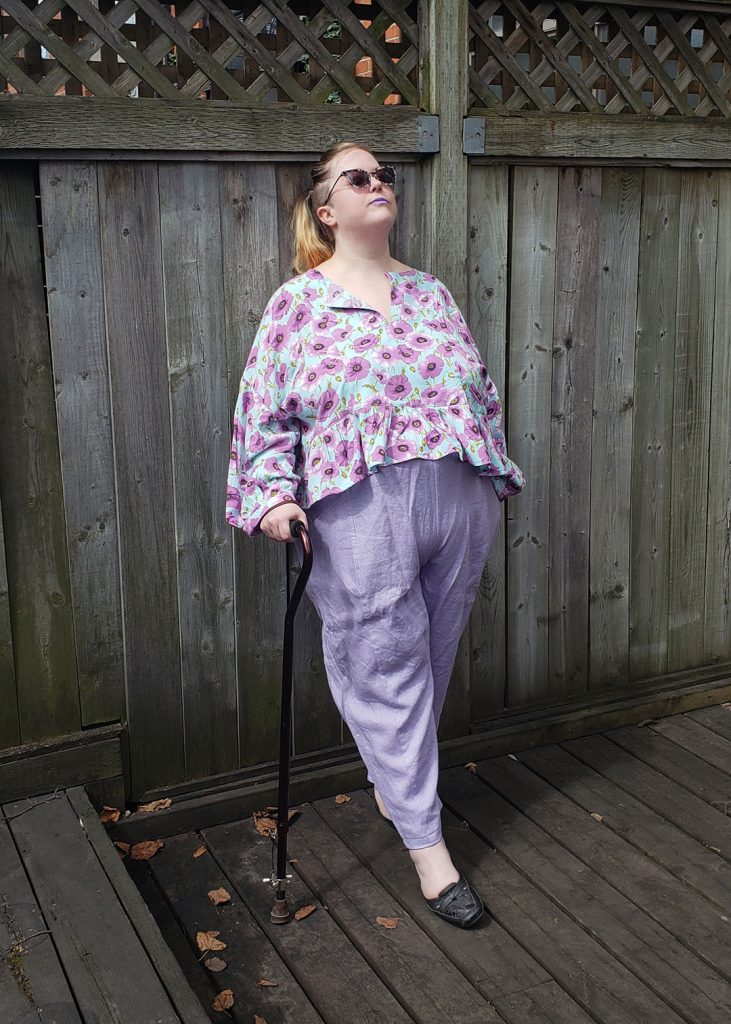 Andie's March Top in Rayon by Helen's Closet Patterns