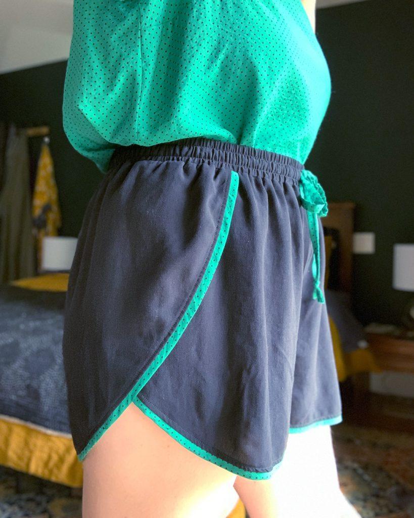 Helen's pajama sewing set.