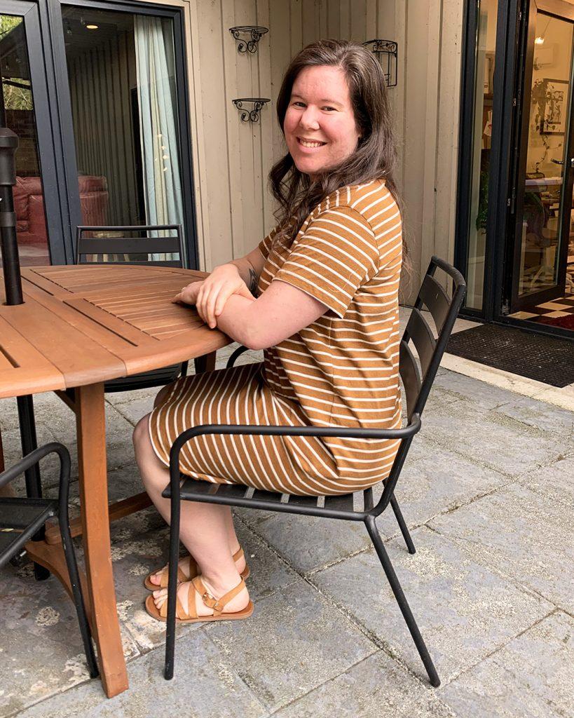 Helen's Jackson Tee Shirt Dress Hack