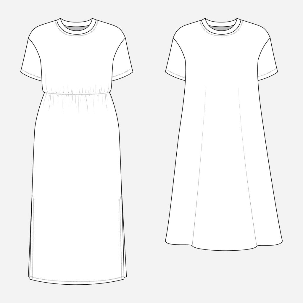Jackson Tee Dress Hack Idea