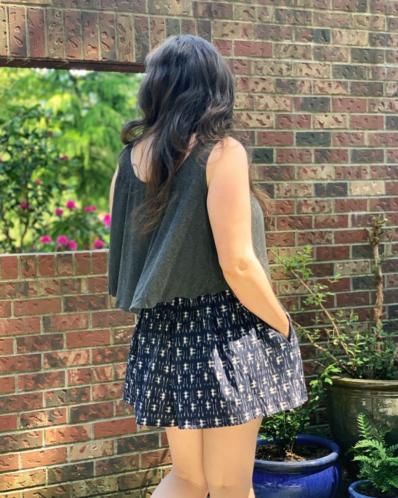 Luna Tank and Winslow Culottes from Helen's Closet