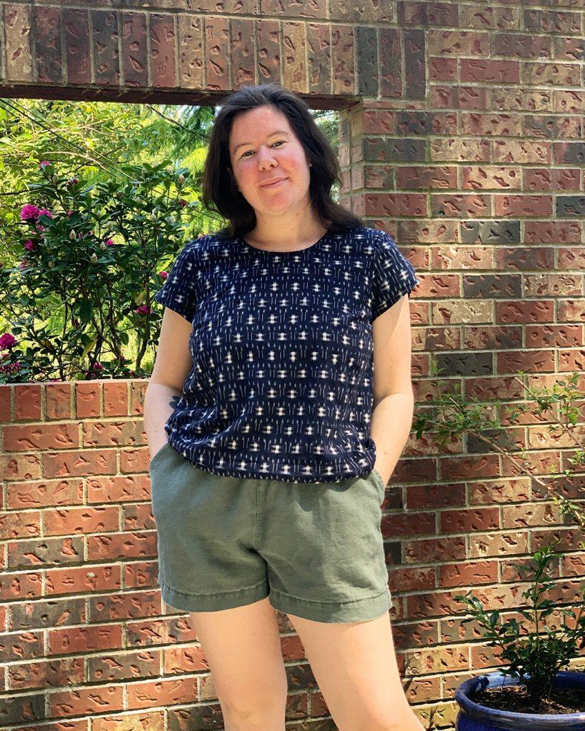 Ashton Top and Arden Shorts Hack from Helen's Closet