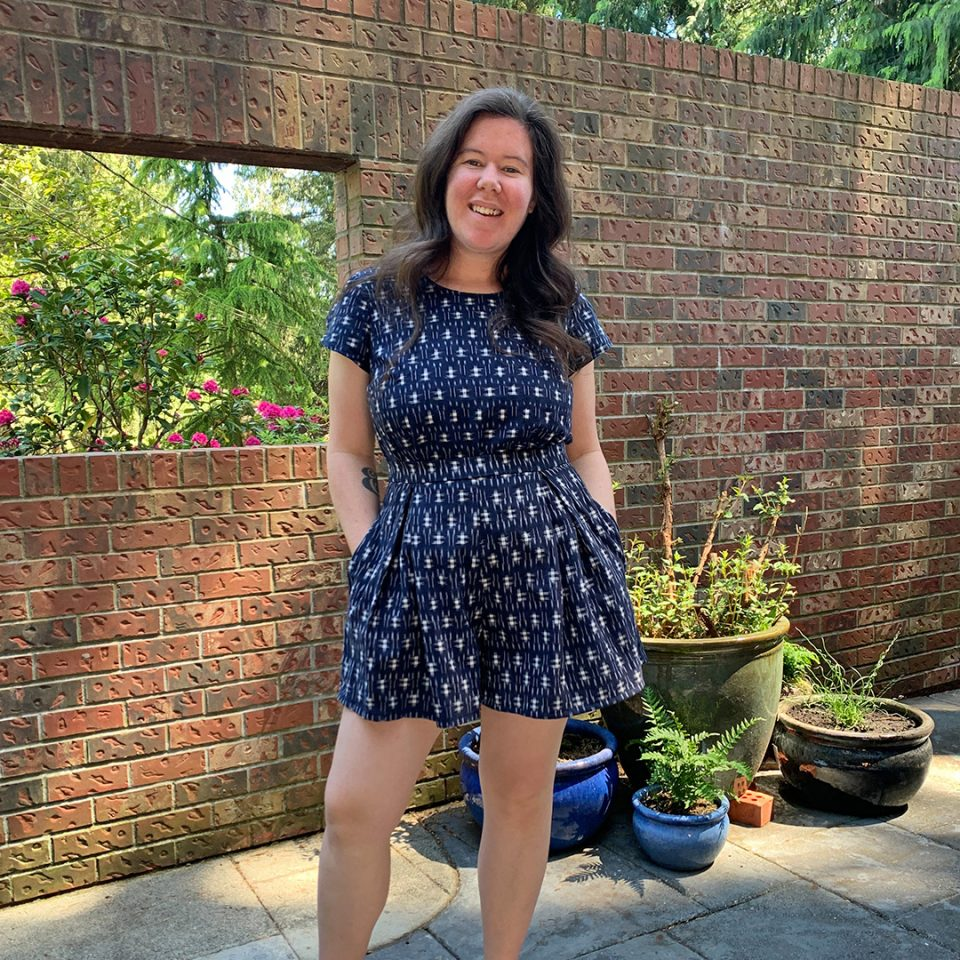 Winslow Culottes and Ashton Top Faux Jumpsuit from Helen's Closet
